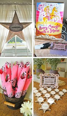 horse theme party supplies   images of cowgirl party baby shower blowout making parties fabulous ...