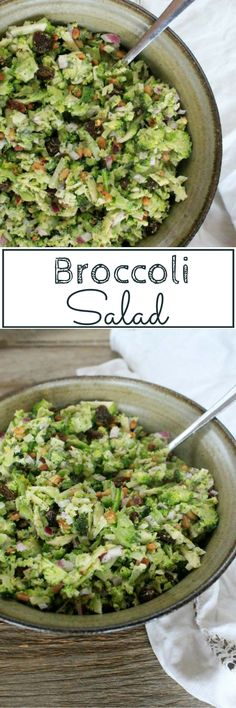 Broccoli Salad - the perfect addition to a winter barbecue. Click here to find the recipe.