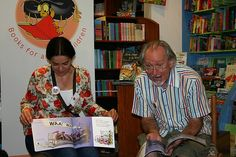 https://flic.kr/p/4FeR7Y | Niki Daly Makes an Impression | ...at the Durban launch of The Squeaky, Creaky Bed by Pat Thomson, illustrated by Niki Daly. shuter.book.co.za