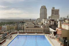 pisciNa hoTel urbaNo / roofTop swimMingpool , Madrid