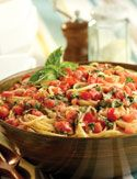 Linguine with Tomatoes and Basil - Oprah.com