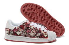 new product ee8e5 a7060 Women s Adidas Originals Adicolor Superstar IS Print Shoes Red Camo White  Shoes Sale Online