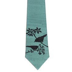 Sparrows Necktie Steel Blue now featured on Fab.