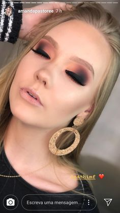 Fantastic makeup inspo information are readily available on our website. Read more and you wont be sorry you did. – Make Up for Beginners & Make Up Tutorial Cute Makeup, Prom Makeup, Gorgeous Makeup, Pretty Makeup, Wedding Makeup, Hair Makeup, Awesome Makeup, Makeup Is Life, Makeup Goals