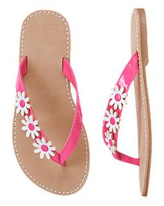 8562943bd2ff8 Daisy Flip Flops Cute Outfits For Kids