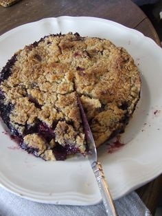 french ladies who lunch AND Fruit Crumble Cake