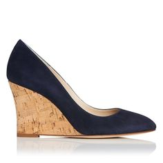 For the Stuart Weitzman Corkswoon Wedges