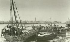 #Before - Dhows in Dubai Creek: The creek was once the centre of the city's pearl trade...