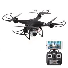 Shop best black1 Original HR SH5HD 2.4G 4CH 1080P Camera Wifi FPV Drone Height Hold Headless Mode One Key Return RC Quadcopter for sale from Tomtop.com at fast shipping. Various discounts are waiting for you!