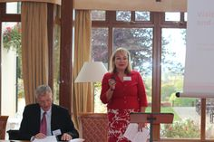 Patricia Yates, Strategy and Communications Director at VisitBritain speaking at the 2015 Eden Tourism Summit.