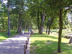 Een park met een rustige sfeer middenin de drukke stad. Net zoals het Central Park in New york