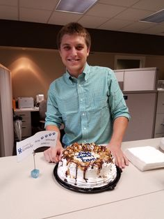 One of our all-star interns will be leaving us this week to head off to college to embark on a new adventure. We wish you the best of luck, Sam!