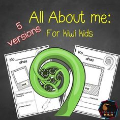 These All about me printables are made for New Zealand classrooms and are perfect for starting the new school year or Back to School time. There are 5 versions allowing this resource to be used for years 1-8 and to allow differentiation for multi age classrooms!