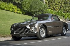 When we said that the show attracts rare cars, we weren't kidding. This 250 Vignale might be the only one in the world.