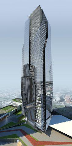 Torre Corporativa (estudo) #jonasbirgerarquitetura