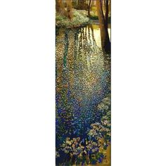 Art By Gustav klimt ❤ liked on Polyvore featuring home, home decor and wall art
