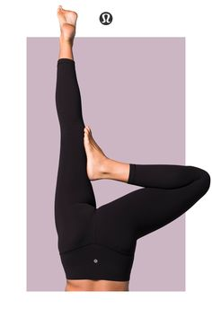 Leggings crafted to support you as you move—up, down, or upside down.