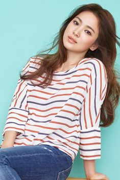 Рекламный бренд: «Esprit» – 449 фотографий Korean Beauty, Asian Beauty, Song Hye Kyo Style, Asian Woman, Asian Girl, Korean Celebrities, Casual Chic Style, Beautiful Asian Women, Korean Actresses