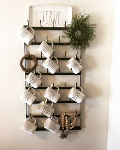 Amazing DIY Rae Dunn Display Ideas and Pictures 26 ...Read More...