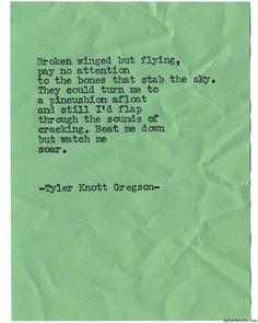Typewriter Series #1142 by Tyler Knott Gregson