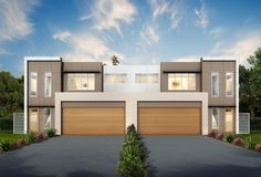 Full size of eco house designs nz design australia magazine nsw by architectural from ideas scenic Plan Duplex, Duplex House Plans, Modern House Plans, House Floor Plans, Duplex House Design, Townhouse Designs, Modern House Design, Brisbane, Melbourne