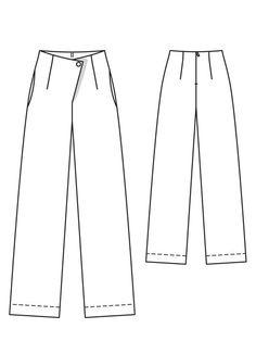Pants pattern - comfortable!