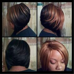 ... piece hairstyles on Pinterest | Quick Weave, Quick Weave Bob and Razor