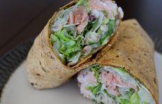 Caesar Salmon Wrap