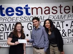 This is Brett Gutstein. To his left is his Mom. In his hand? That's a $1000 check.    Congratulations Brett!    Click Like if you want $1000 and a perfect SAT score (like Brett).