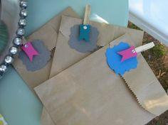 Candy Buffet  Favor Bags