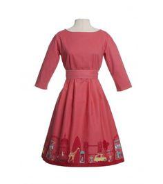 Beatrice dress London Rasberry New Wardrobe c3e675c68