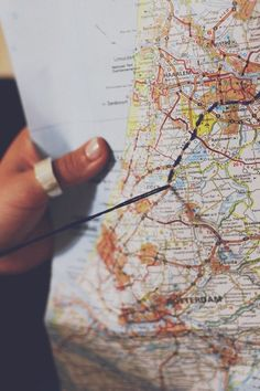 Road Trip Bucket List: DIY Embroidered Maps