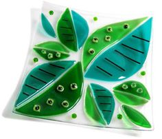 colorful glass tutorial from Delphi Glass
