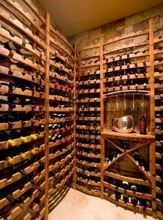 Reclaimed Wine Barrel Racking