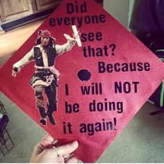 Cool idea for grad cap by Savannah Rose Hamilton | We Heart It