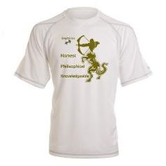 SAGITTARIUS Performance Dry T-Shirt> SAGITTARIUS MEN'S T-SHIRTS & CLOTHING> Wanda's T-Shirts and Stuff $33.00