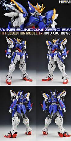 Painted Build: HiRM 1/100 Wing Gundam Zero Custom EW - Gundam Kits Collection News and Reviews