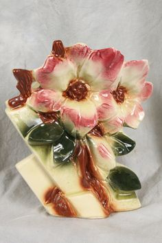 McCoy Pottery Magnolia Vase