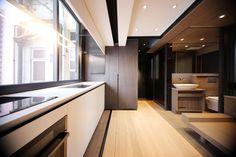 29 metros cuadrados de apartamento y una pareja que quería una gran cocina, una gran bañera, espacio para recibir a sus amigos y para compartirlo...