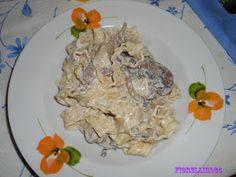 Le Delizie di Fiorellina84: Reginette con panna e funghi