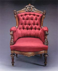 High-Style Mass-Produced Furniture - Rare Victorian