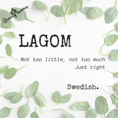Lagom – one of the most useful words ever – Emma's Food Bag Vocabulary, About Me Blog, Place Card Holders, Words, Communication, Bag, Communication Illustrations, Bags, Vocabulary Words