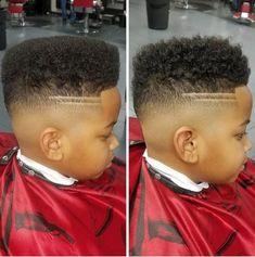 Flat Top with High Fade Black Boy Haircut Black Boys Haircuts Fade, Boys Curly Haircuts Kids, Boys Haircuts 2018, Boys Fade Haircut, Baby Haircut, Flat Top Haircut, Little Boy Haircuts, Black Men Hairstyles, Undercut Hairstyles