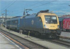 - Siemens Taurus electric locomotive No. 470 007 of MÁV Electric Locomotive, Commercial Vehicle, Taurus, Railroad Tracks, Train, Vehicles, Europe, Trains, Levitate