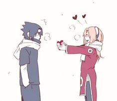 Saku:here Sasuke-kun I have a present for u Sasuke:*leaves* Sakura:(he dosen't want it)I'll just give it to Naruto or Kakashi I'm sure they'll want it Sasuke:*comes and runs after her* Naruto Uzumaki, Itachi, Naruto Sasuke Sakura, Naruhina, Naruto Comic, Anime Naruto, Naruto Cute, Otaku Anime, Sakura Haruno