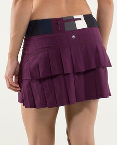 New skirt for state tennis tournament this weekend! Lululemon Run:Pace-Setter Skirt*Tall