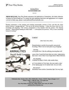David Dodd Lee: Animalities
