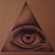 Drawing Other - All seeing eye drawing