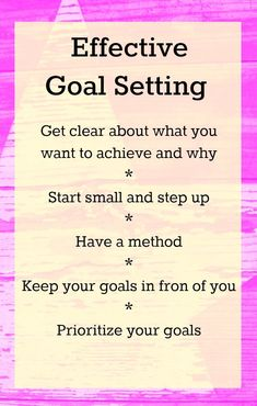 Let's talk effective goal setting. Today, I've got tips to help you set effective goals, stay focused and actually achieve your goals.