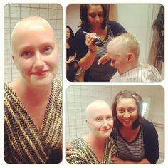 Casting  Shaved my head today to raise money for cancer research!